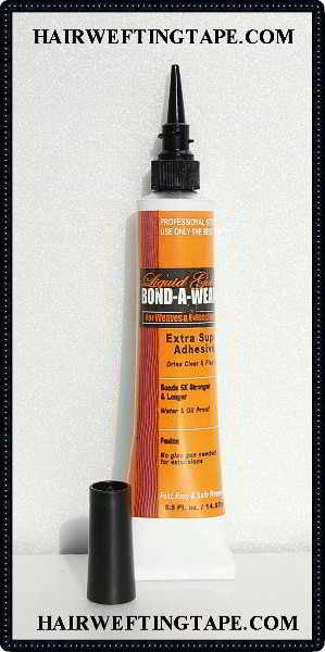 Liquid Gold Bond A Weave ~ Hair Extension Glue 1/2 oz size tube