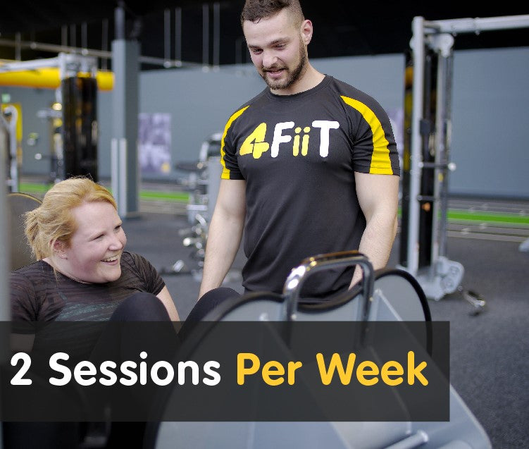 1-2-1 Transformation - 2 sessions per week