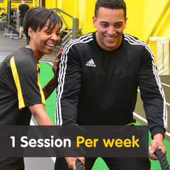 1 Session Per Week