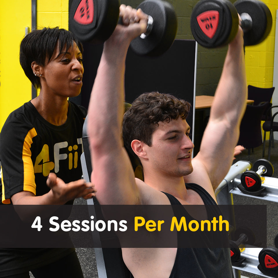 4 Sessions Per Month