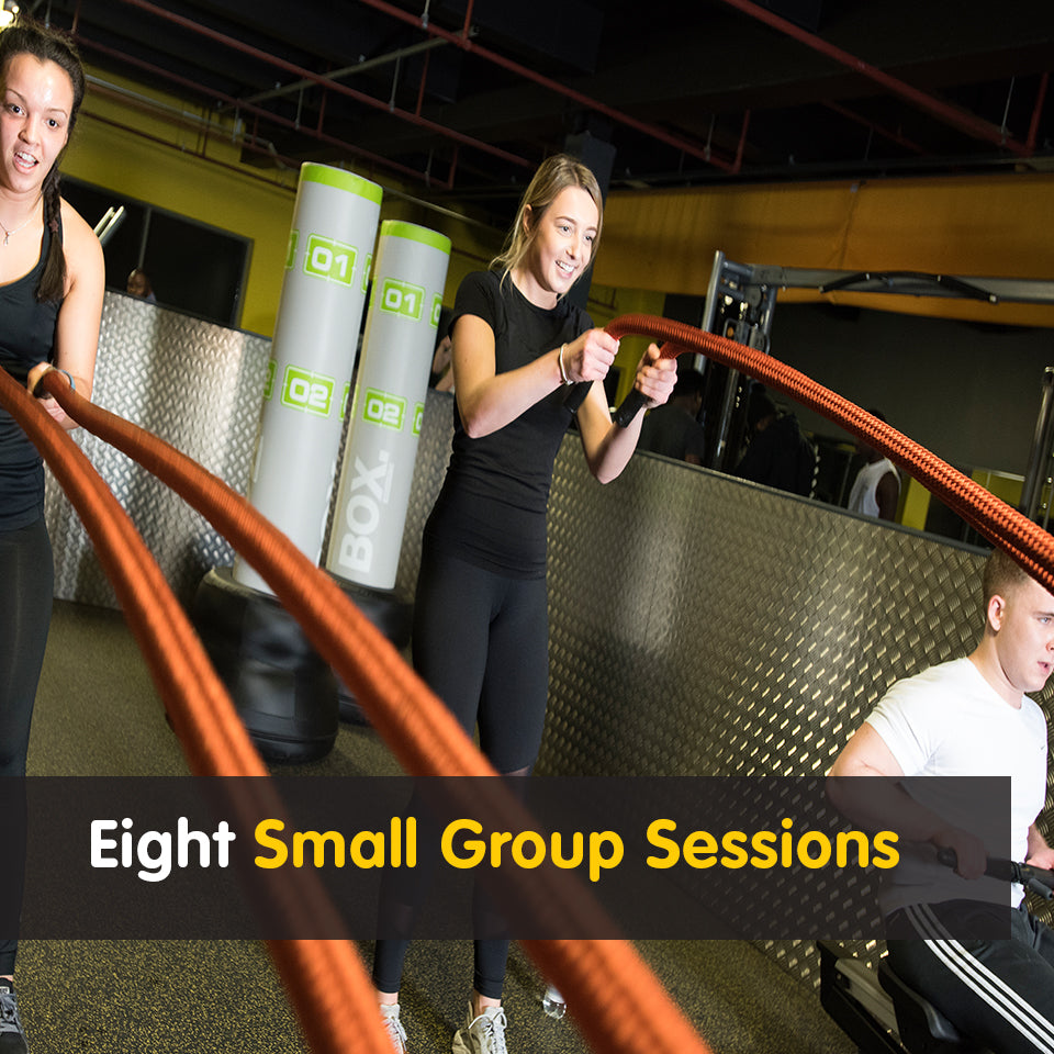 8 Small Group Sessions