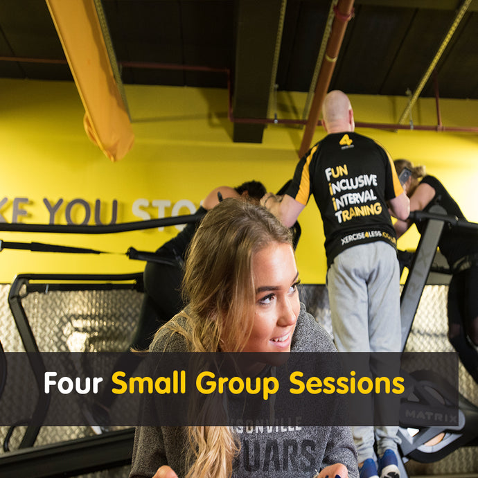 4 Small Group Sessions