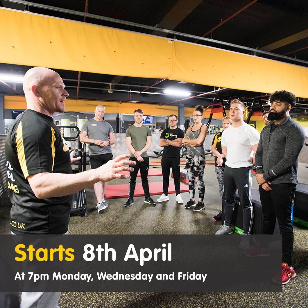 8 Week Transformation Camps Xercise4Less Burnley