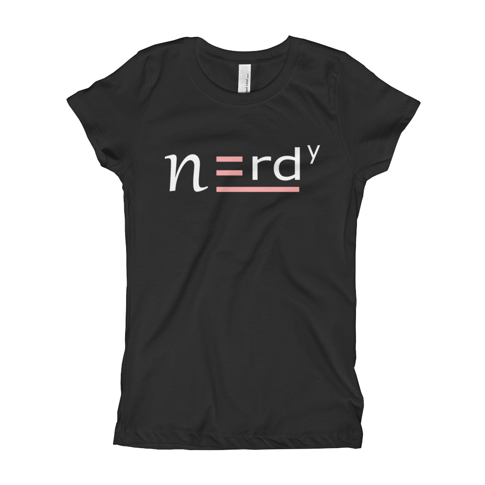 Nerdy Girl Youth Signature Tee