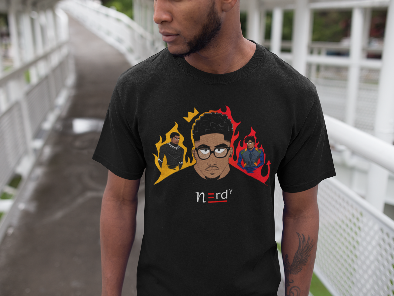 Nerdy Decisions Tee