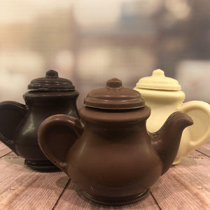 Dark Solid Chocolate Teapot - The Little Chocolate Teapot Company