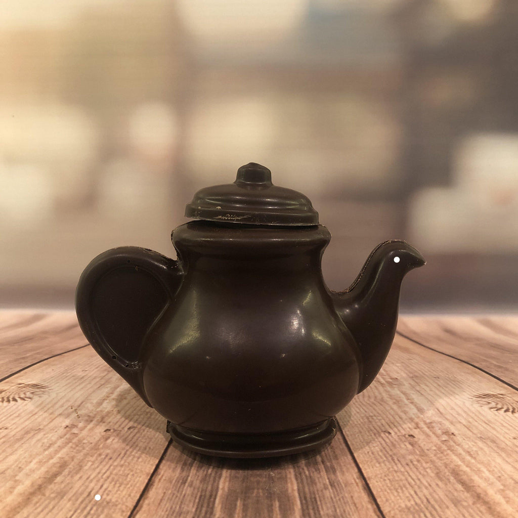 Dark chocolate teapot