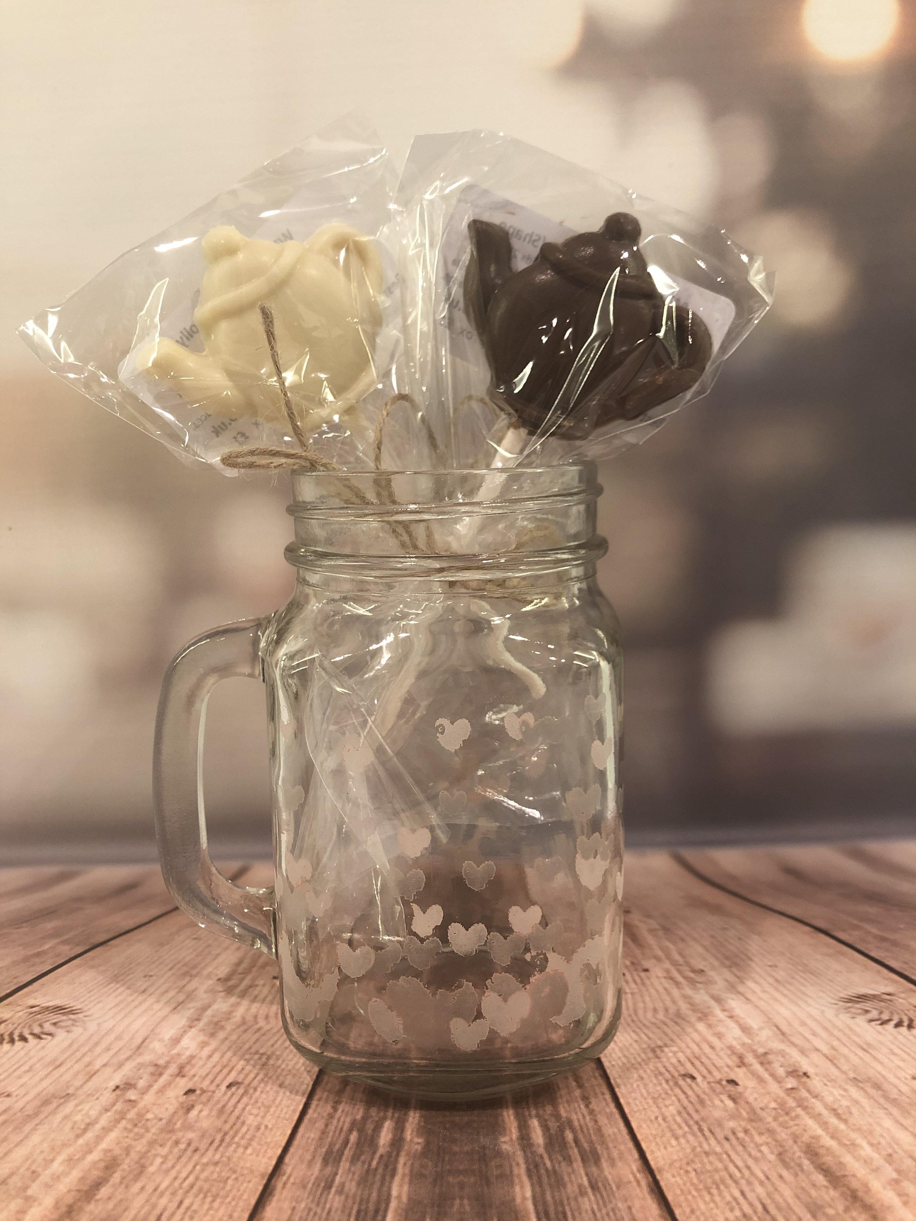 Little Chocolate Teapot Lollipop - The Little Chocolate Teapot Company
