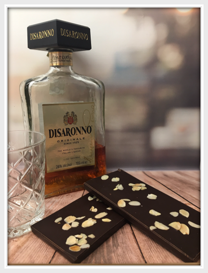 Dark Amaretto & Almond Bar - The Little Chocolate Teapot Company