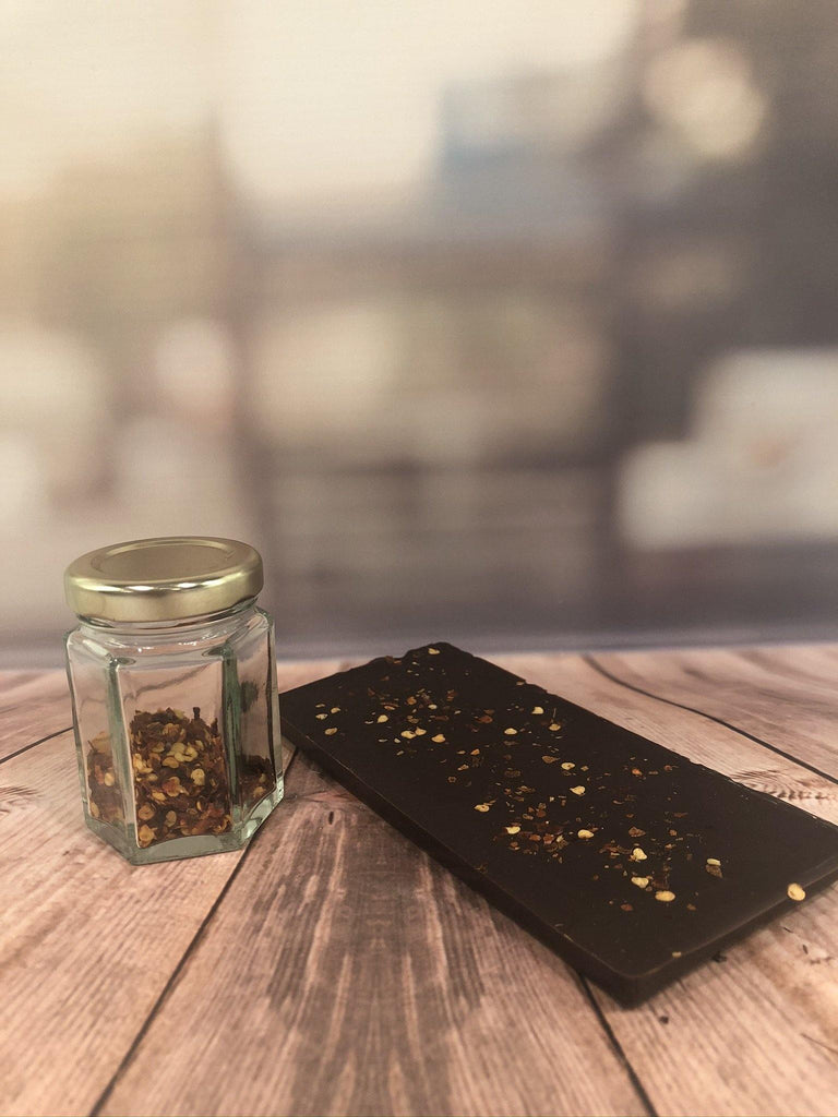 Dark Chocolate Chilli Bar - The Little Chocolate Teapot Company