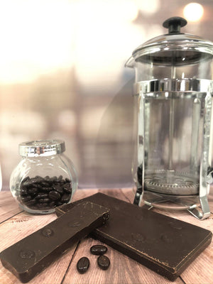 Dark Chocolate Cafe Noir Bar - The Little Chocolate Teapot Company