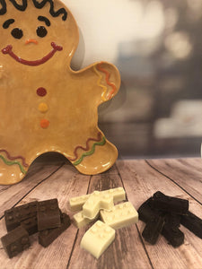 Milk Chocolate Brick Shapes - The Little Chocolate Teapot Company