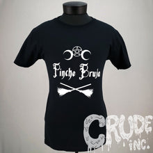 Pinche Bruja t-shirt, Witch Shirt, Horror tshirt, Goth tee, screen printed T shirt