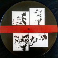 Cowboy Bebop Spike Jet Faye Ed Title Card Spray Paint and Stencil Vinyl Record Art