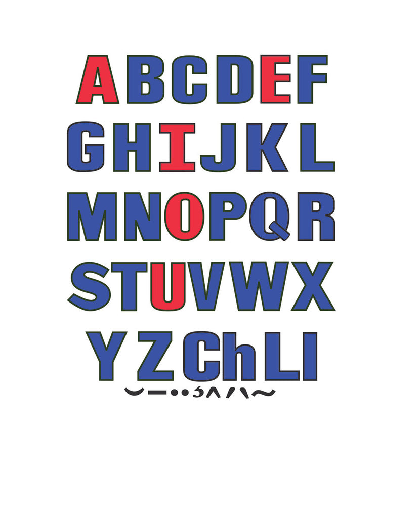 Upper & Lower Case Letters