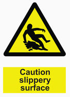 Hazard Warning - Caution Slippery Surface - IRONmarker Grip