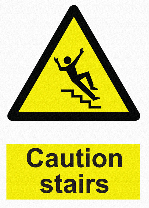 Hazard Warning - Caution Stairs - IRONmarker Ultra
