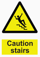Hazard Warning - Caution Stairs - IRONmarker Grip