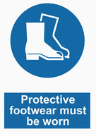 Mandatory - Protective Footwear Must Be Worn - IRONmarker Grip