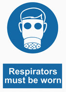 Mandatory - Respirators Must Be Worn - IRONmarker Grip