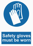 Mandatory - Safety Gloves Must Be Worn - IRONmarker Grip