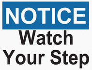 Notice - Watch Your Step - IRONmarker Grip