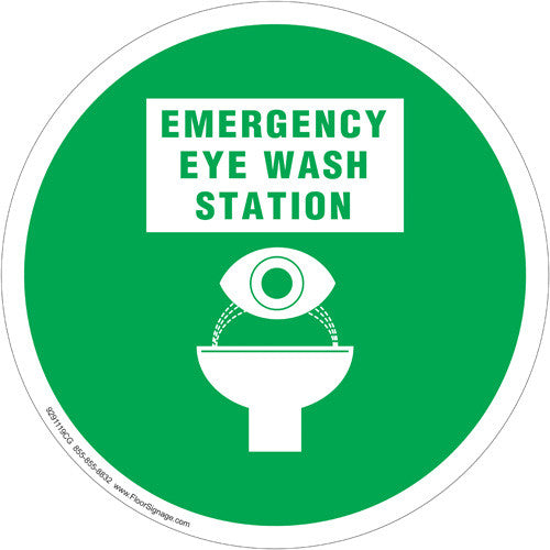 Emergency Eye Wash - IRONmarker Grip