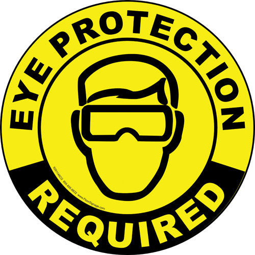Eye Protection Required - IRONmarker Grip