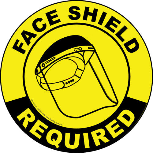 Face Shield Required - IRONmarker Ultra