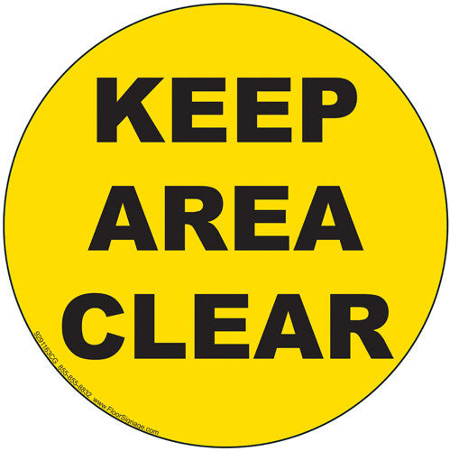 Keep Area Clear - IRONmarker Ultra