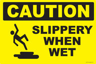 Caution Slippery When Wet - IRONmarker Ultra