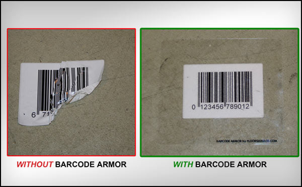 Bar Code Armor - Made from IRONmarker Ultra