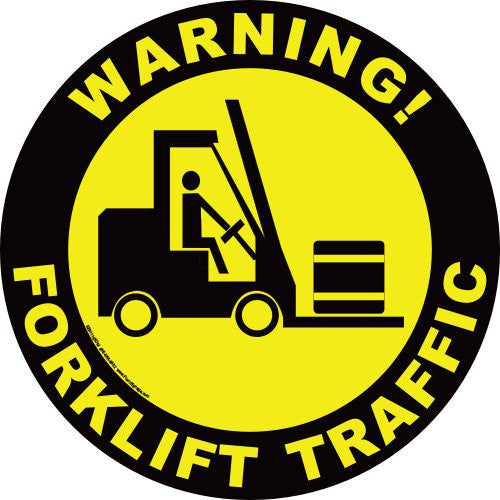 IRONmarker ULTRA Forklift Sign 24