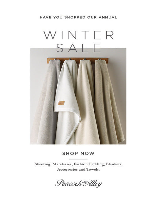 Peacock Alley Winter Sale