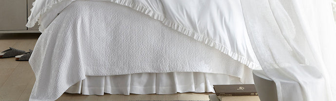 Bedding Advice from the Luxury Linen Experts at Peacock Alley: The Uses and Benefits of a Bed Skirt
