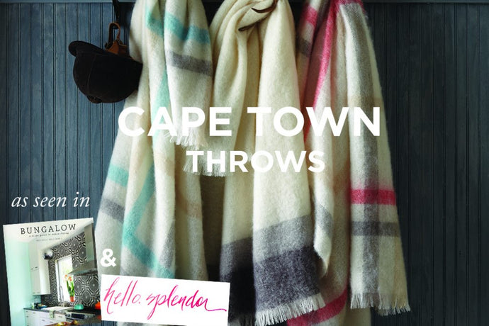 Cape Town Throw As Seen In …