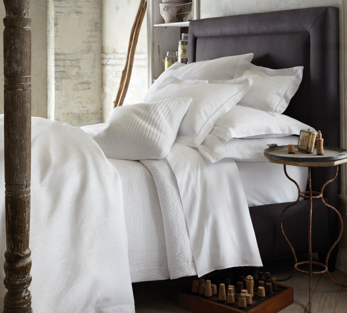 Classic Ideas to Update Your All White Bed