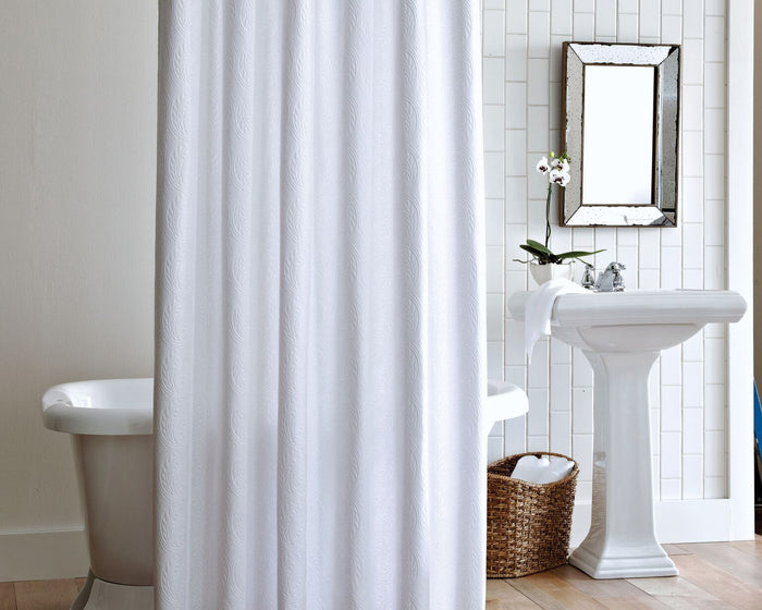Luxury Shower Curtains Made From High End Fabrics