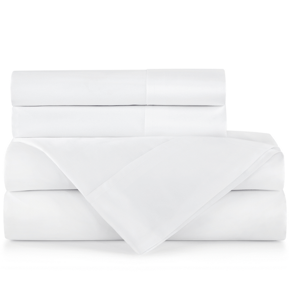 White Supima Pima Cotton Sheet Set