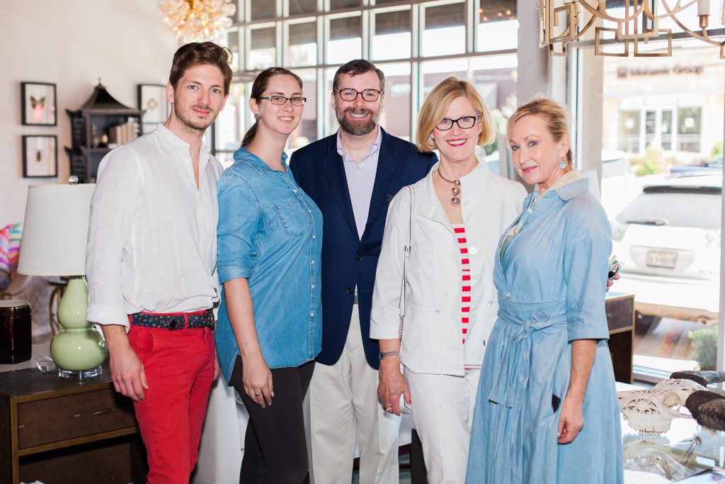 Benjamin Frowein, Danielle Burbidge, James Campbell, Mary Anne Smiley, and Karine Robinson posing together