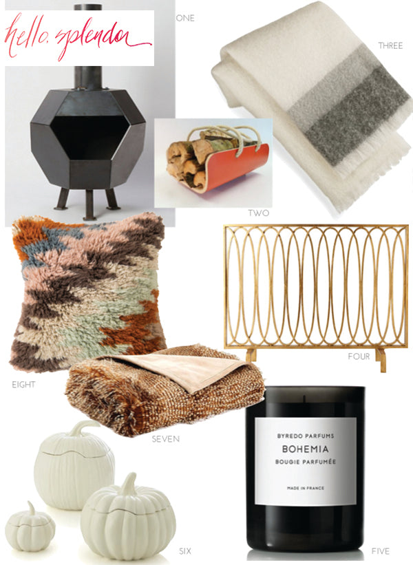 5 ways to transition your home into Fall from Pulp Design Studios