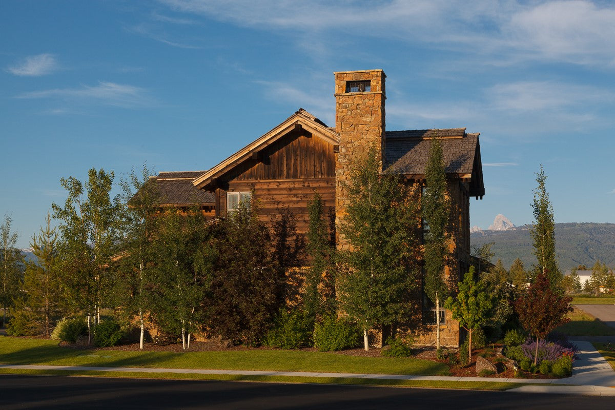 Josh and Meredith Needleman's affectionately dubbed Mother Chucker retreat in Idaho