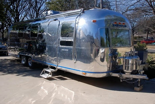 The Peacock Alley Airstream trailer