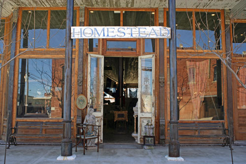 Homestead Antique and Furniture Store in Hico, TX
