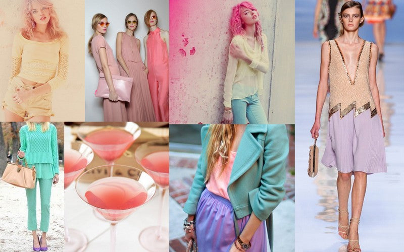 Head to toe pastels are one of the latest fashion trends