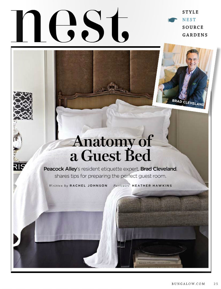 First page of Anatomy of a Guest Bed from the Spring 2013 issue of Bungalow