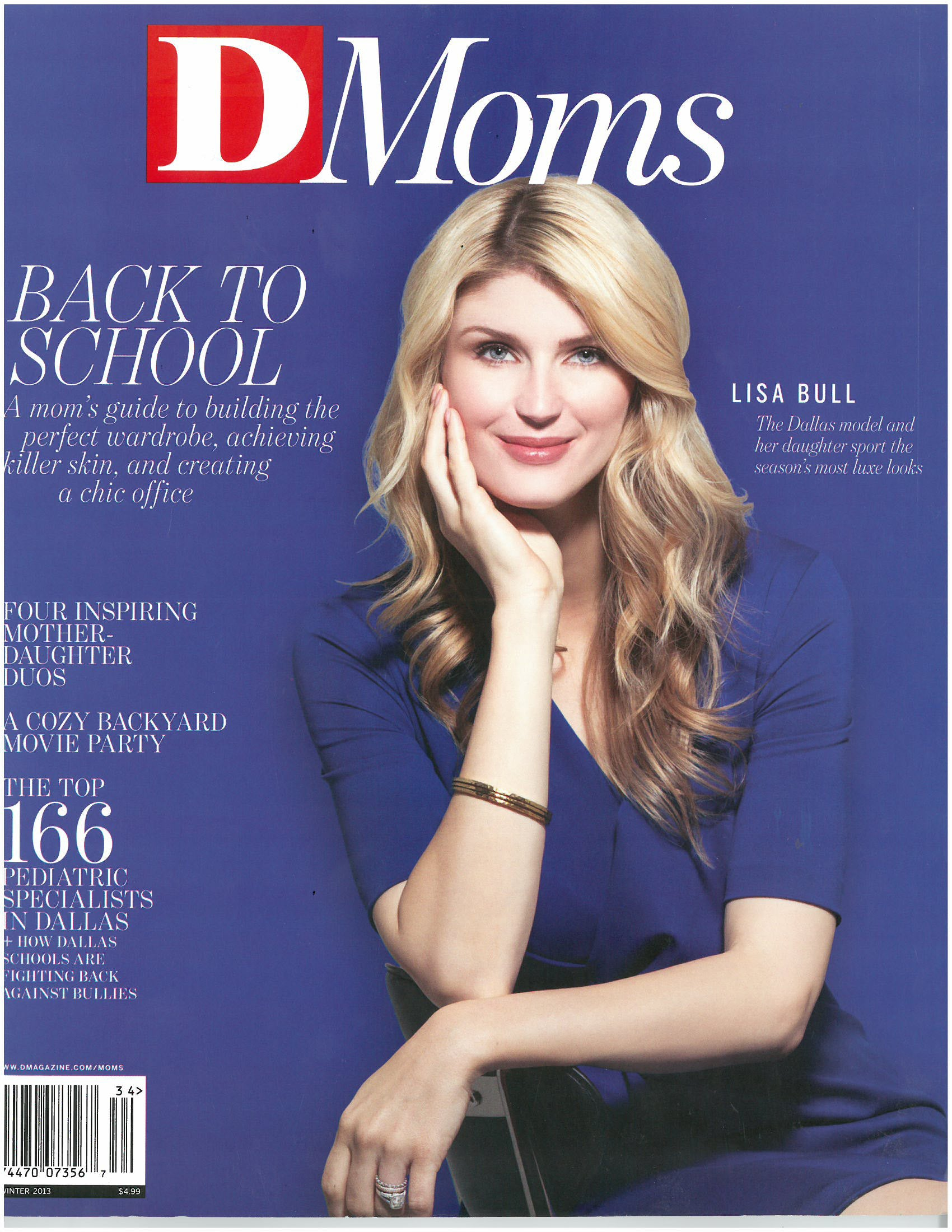 DMoms Magazine cover, Winter 2011