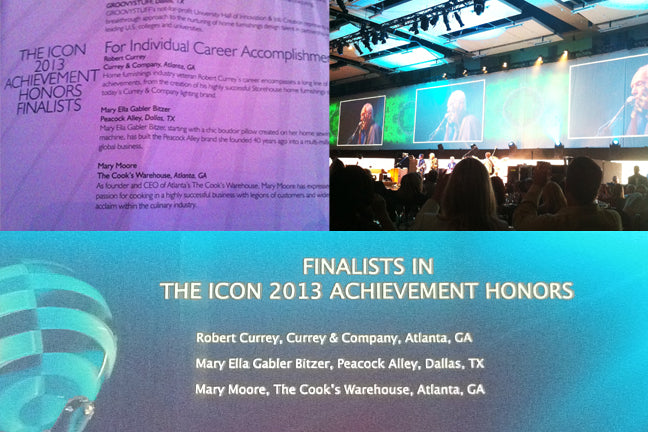 Finalists in the Icon 2013 Achievement Honors category