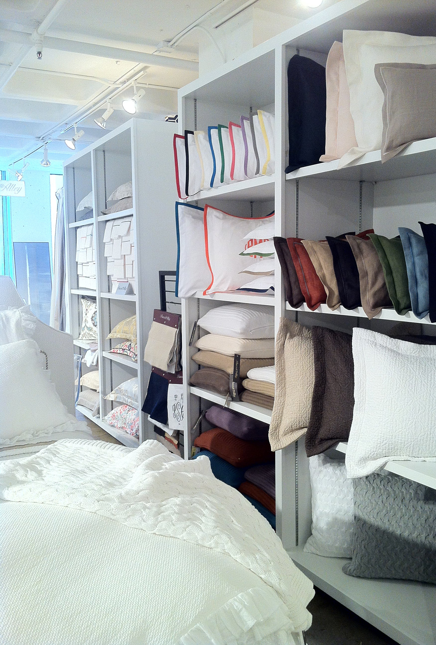 Pillows in every size and color displayed at the International Gift and Home Furnishings Market in Atlanta