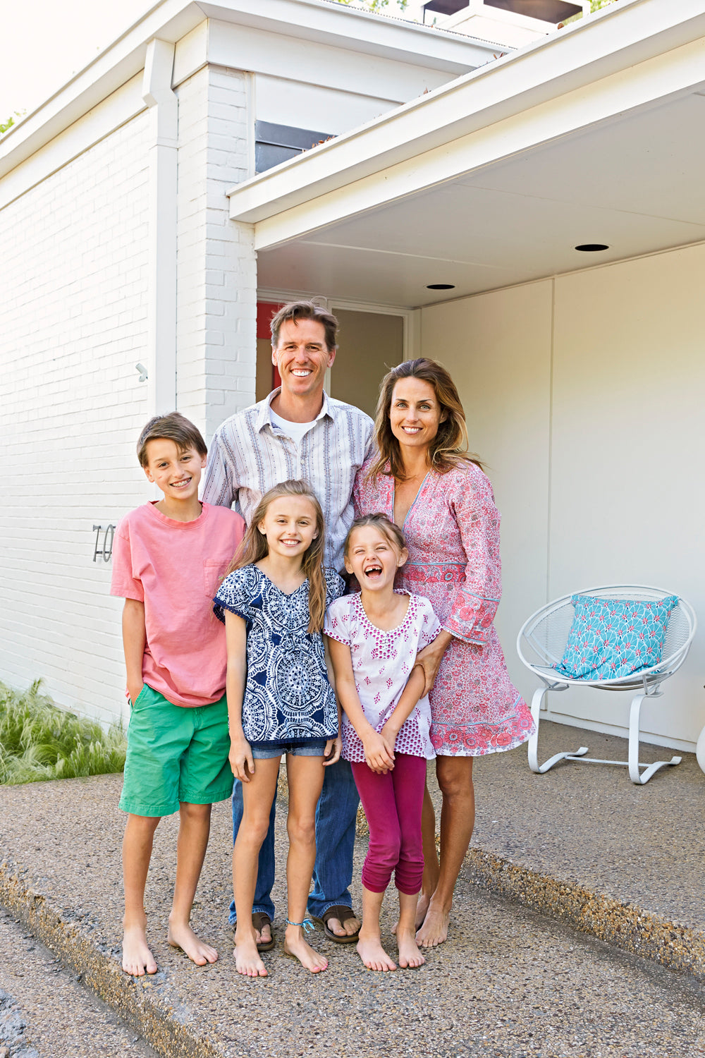 The Needleman family, Josh, his wife Meredith, and their three beautiful children: Lake, Lucy Ray and Eloise